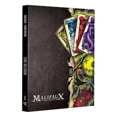 Malifaux Core Rulebook (BOOK)