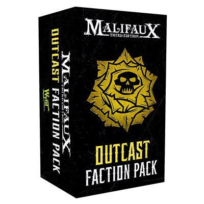 Malifaux 3E: Outcast Faction Pack