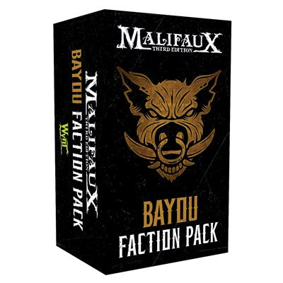 Malifaux 3E: Bayou Faction Pack