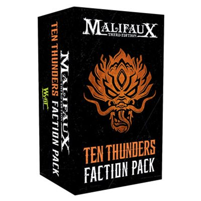 Malifaux 3E: Ten Thunders Faction Pack