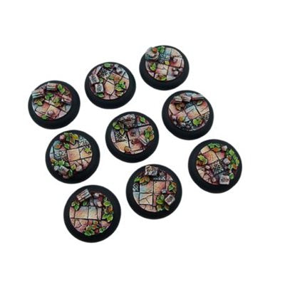 Bases: Ancient, Round Lipped 30mm (5)