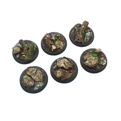 Bases: Forest, Round Lipped 40mm (2)