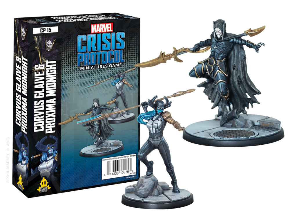 MARVEL CP: CORVUS GLAIVE AND PROXIMA MIDNIGHT