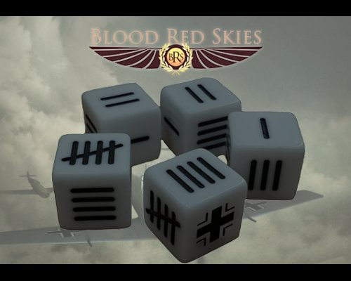 German Blood Skies Dice