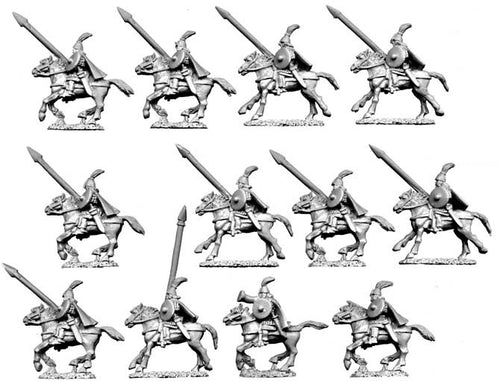 10mm Horse Tribe Royal Cavalry