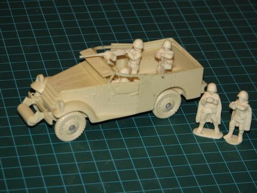 Lend Lease White M3 Scout Car