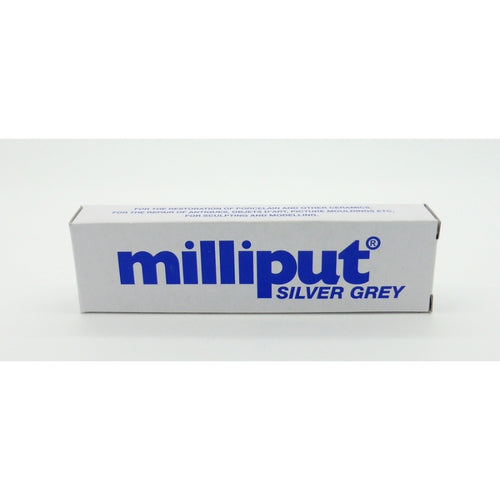 Silver Grey Milliput Epoxy Putty