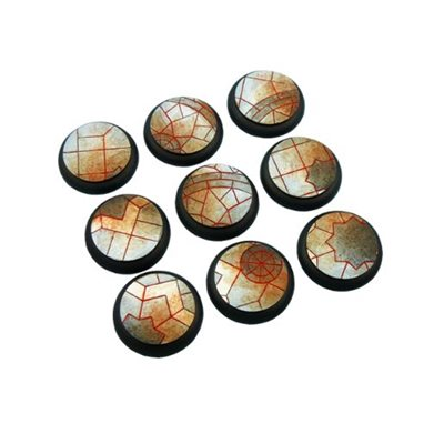 Bases: Mosaic, Round Lipped 30mm (5)