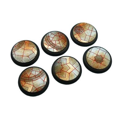 Bases: Mosaic, Round Lipped 40mm (2)
