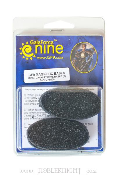 Magnetic Bike Oval Bases (8)