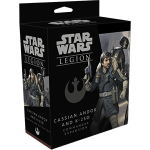 STAR WARS LEGION: CASSIAN ANDOR AND K-2S0 COMMANDER EXP.