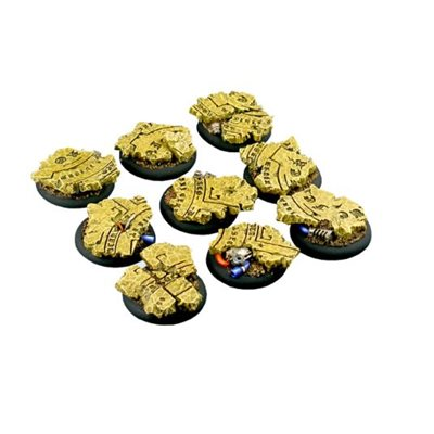 Bases: Temple, Round Lipped 30mm (5)