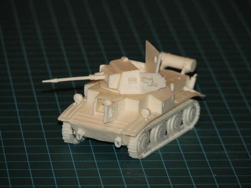 Light tank Mk.VII Tetrarch with 2 pdr and Littlejohn adaptor