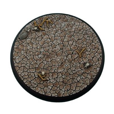 Bases: Wasteland, Round Lipped 120mm (1)