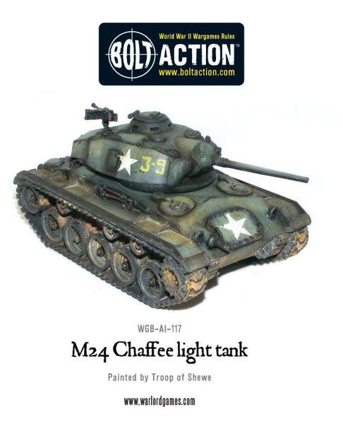 M24 Chaffee, US light tank