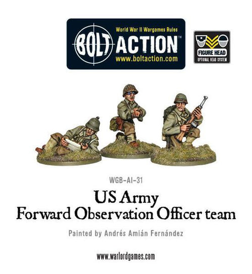 US Army FOO team