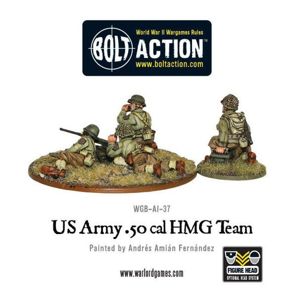 US Army 50 Cal HMG team