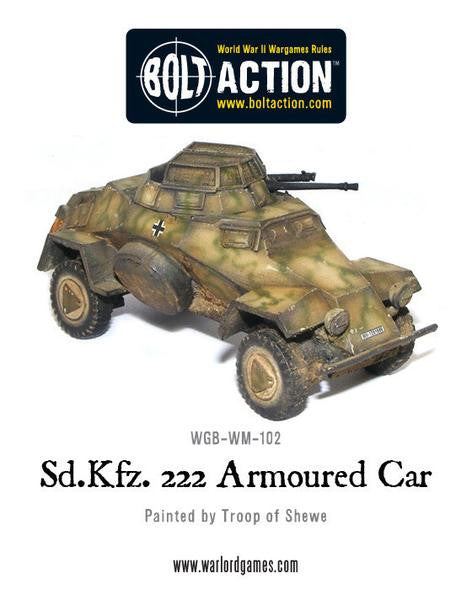 Sd.Kfz 222 Armoured Car