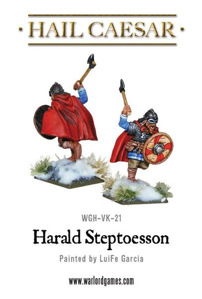 Harald Steptoesson, special edition Viking