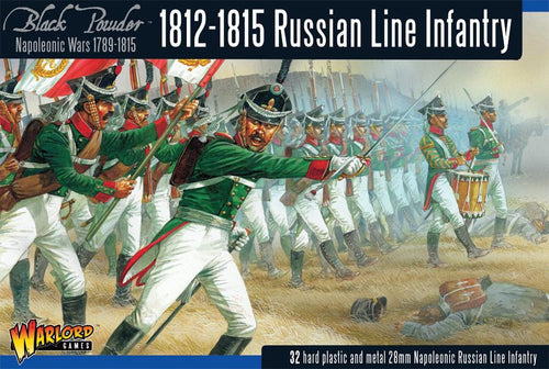 Napoleonic Wars: Russian Line Infantry (1812-1815) plastic boxed set