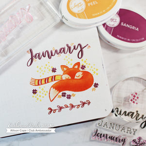 January Stamp Set