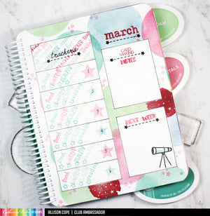 March Stamp Set