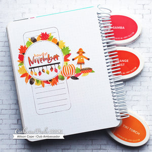 Howdy November Stamp Set