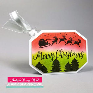 Here We come A-Caroling Stamp Set