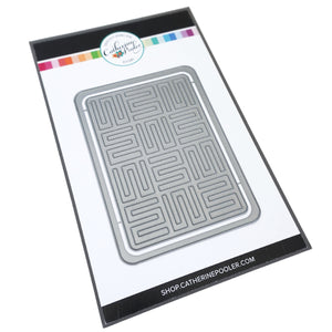 A-Maze-ing mini cover plate