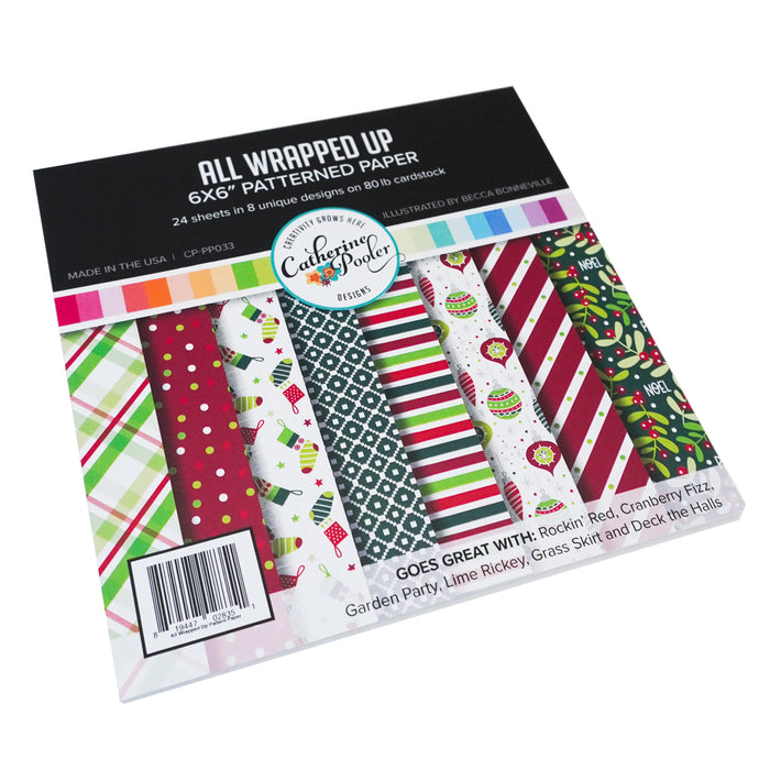 All Wrapped Up Patterned Paper