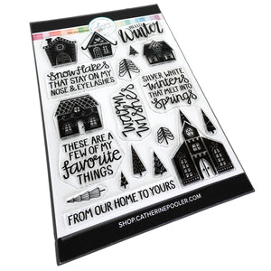 Alpine Village Stamp Set