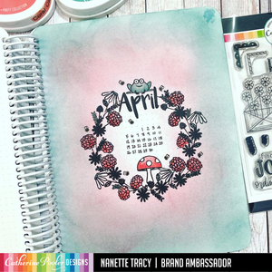April Stamp Set