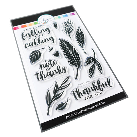 Autumn is Calling Stamp Set