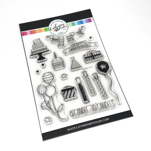 Birthday Icons Stamp Set
