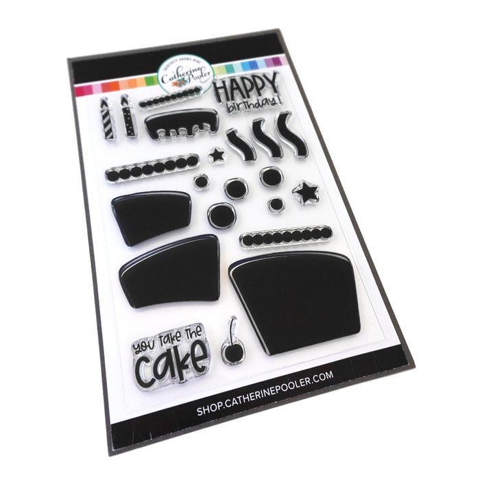 Birthday Cake Remix Stamp Set