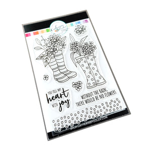 Bloomin Wellies Stamp Set