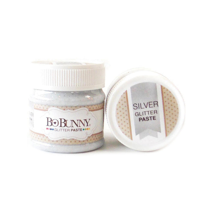 Silver Glitter Paste by BoBunny