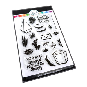 Build a Terrarium Stamp Set