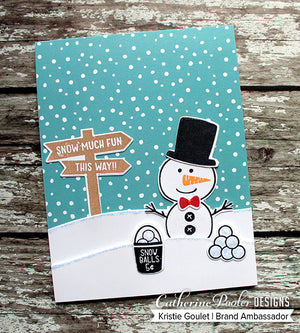 Build A Snowman Stamp Set