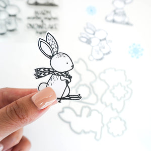 Bunny Slope Stamp Samples