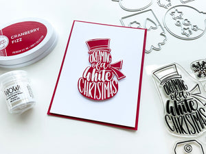 Caroling Sentiments Stamp Set