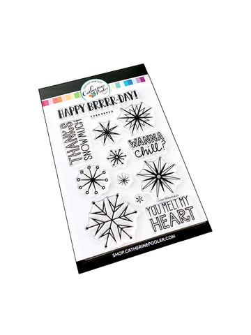 Chillin' Snowflakes Stamp Set