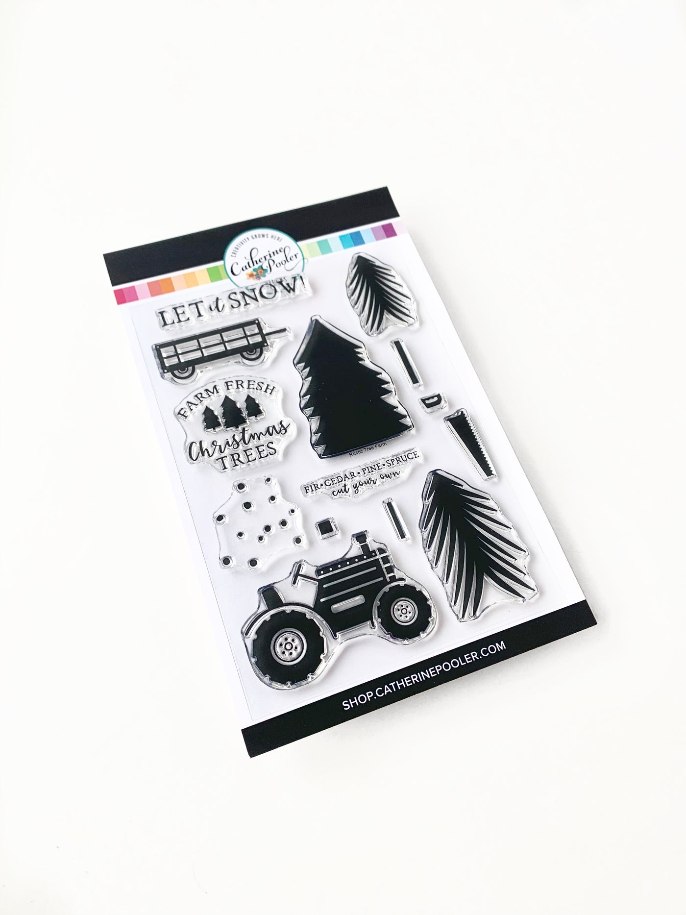 Christmas Tree Farm Stamp Set Catherine Pooler Llc