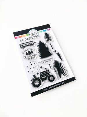 Christmas Tree Farm Stamp Set