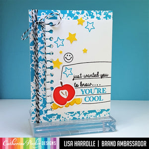 Spiral Notebook Border Die