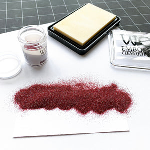 Cranberry Sparkle Embossing Glitter by WOW