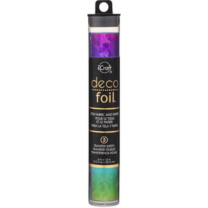 Rainbow Shattered Glass Deco Foil Roll