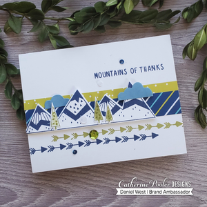 Mountain of Thanks Stamp Set