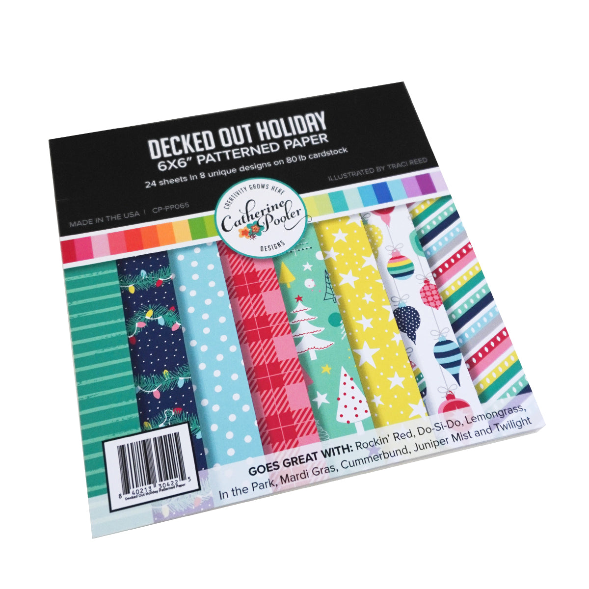 Catherine Pooler Designs Decked Out Holiday Patterned Paper