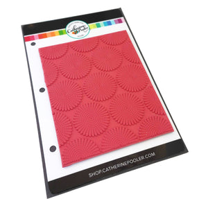 Dotted Burst Background Stamp